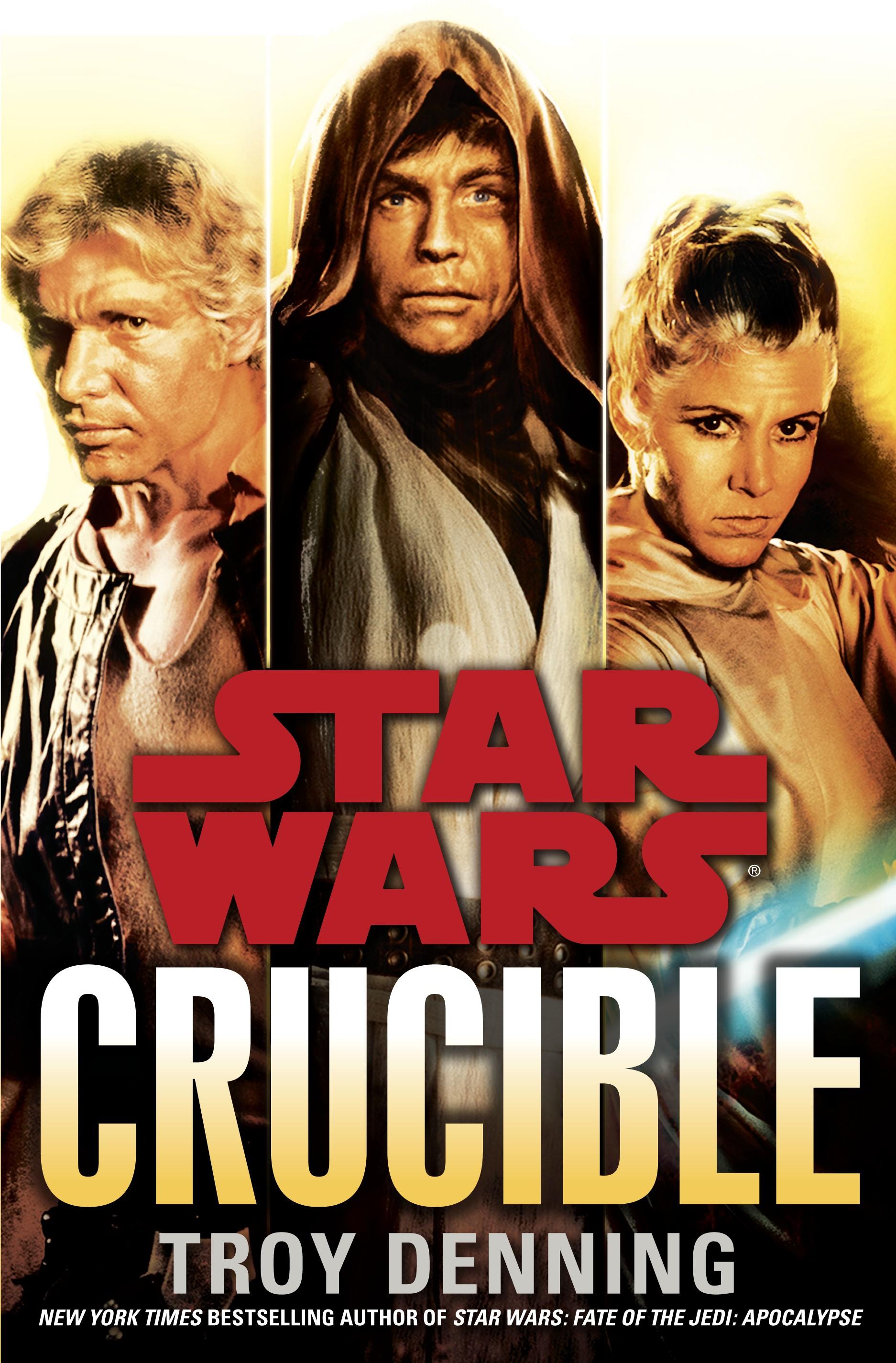 Yayınlanmış son Genişletilmiş Evren kitabı Crucible