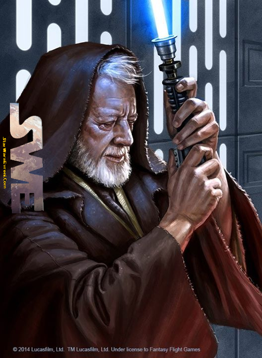 Obi-Wan Kenobi Güç ile bir olurken